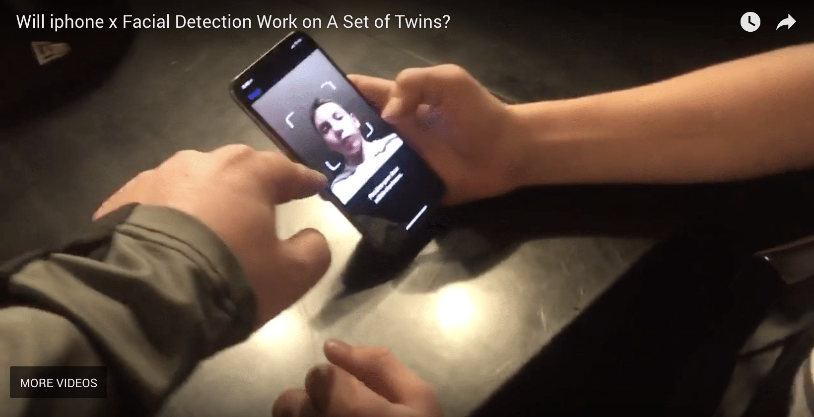 Does Facial Recognition on iPhone X 10 Work On Identical Twins