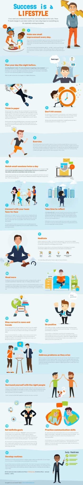 17 Insightful Tips to Improve your Routine