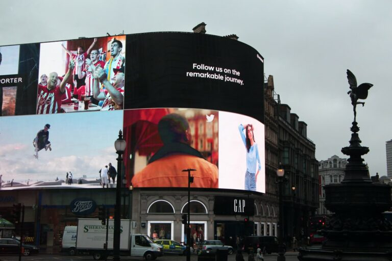 Branding Advertisements In Square