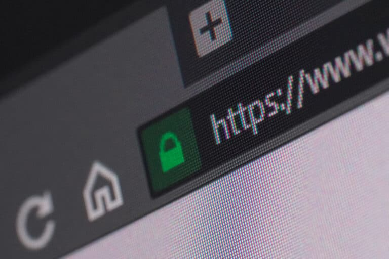 Secured URL Showing HTTPS Site