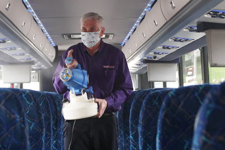 Bailey Coach Pivoting to Disinfecting Services