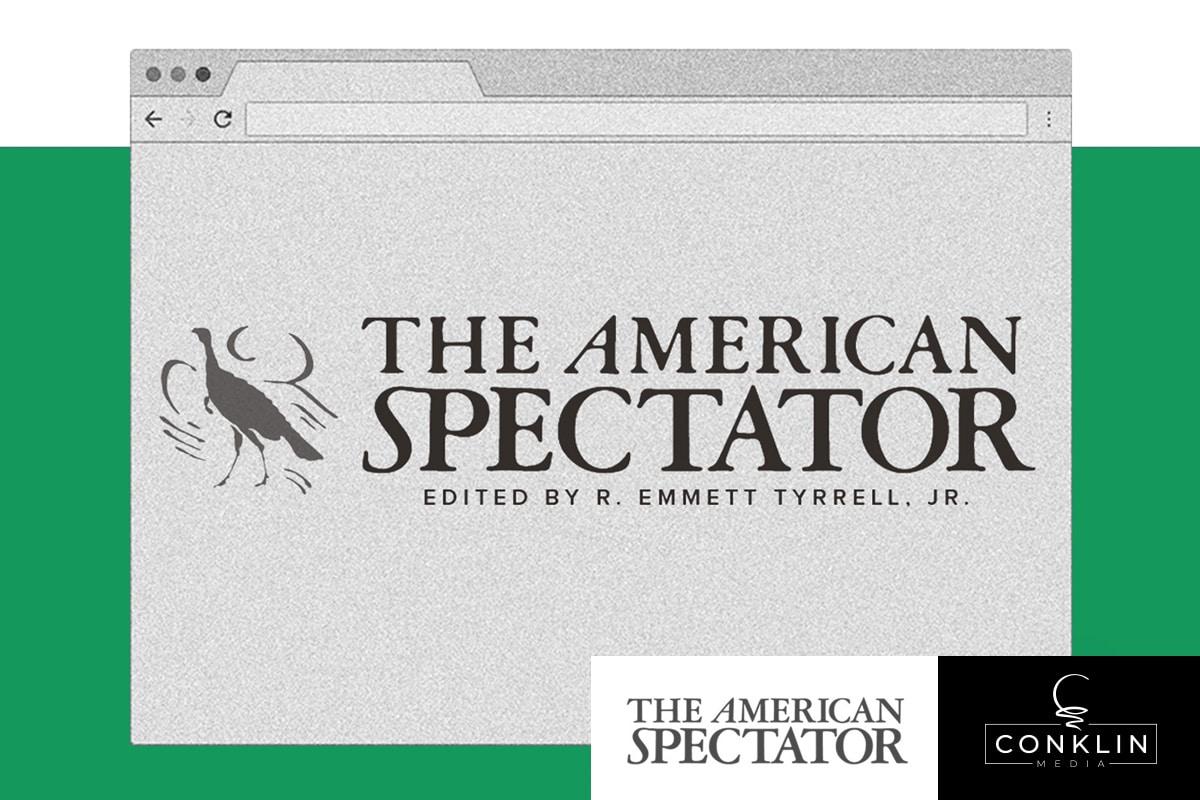 American Spectator Conklin Media Graphic