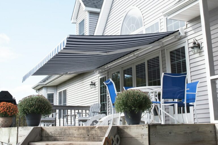 Marygrove Awning over back porch
