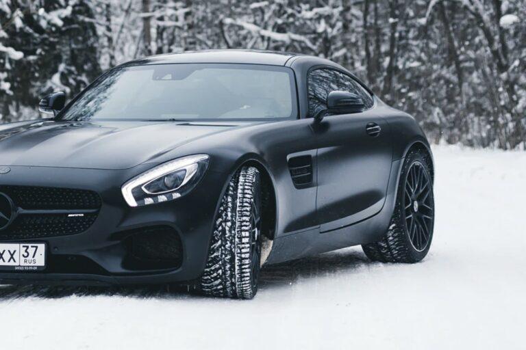 Nice Car in Snow
