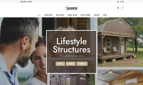 Ulrich Website Design