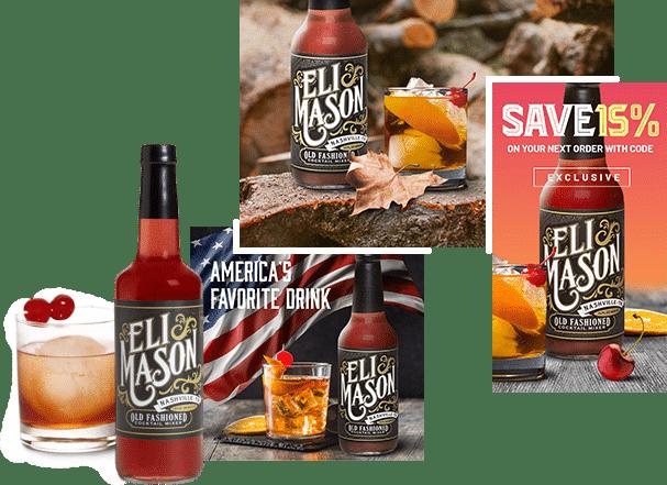 Eli Mason Social Creative Examples