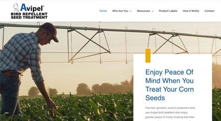 Avipel Homepage Header Top