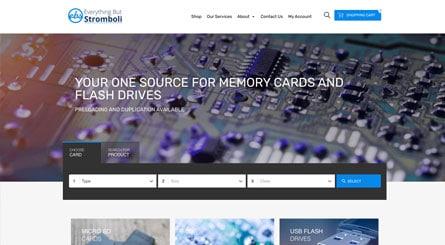 Bulkmemorycards.com Homepage